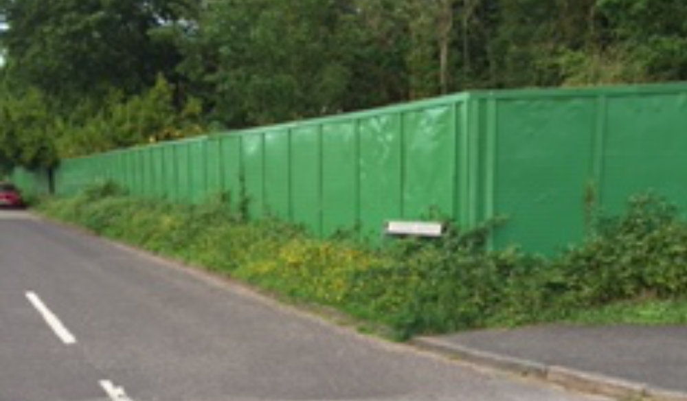 Hoardings to be removed within two months