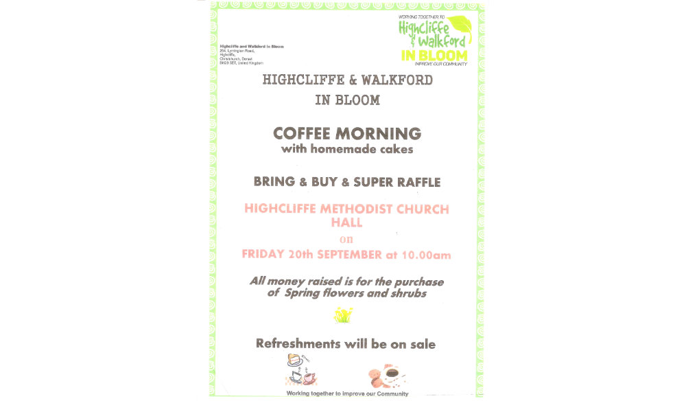 Bloom Coffee Morning