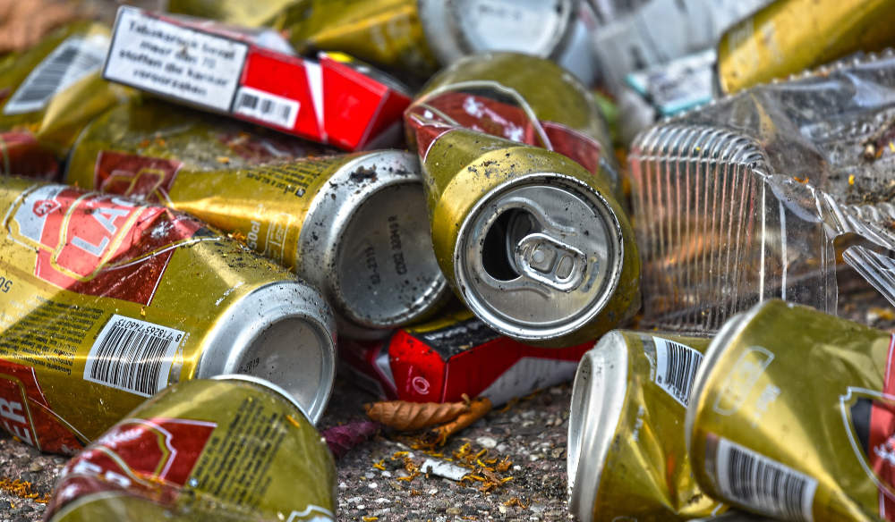 Photograph of litter