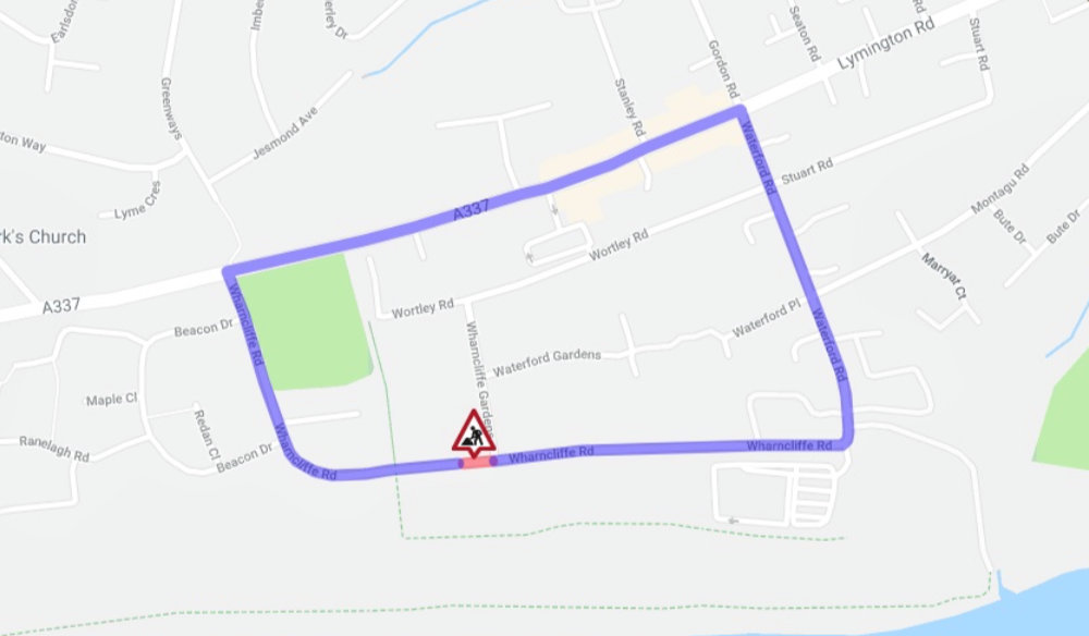Proposed temporary road closure of Wharncliffe Road