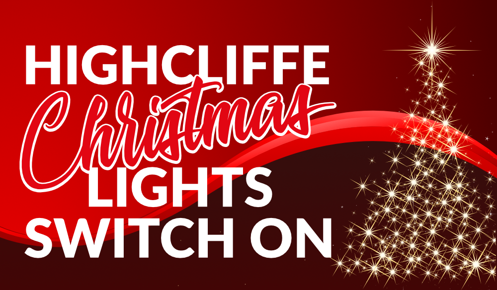 Highcliffe Christmas Lights Switch On