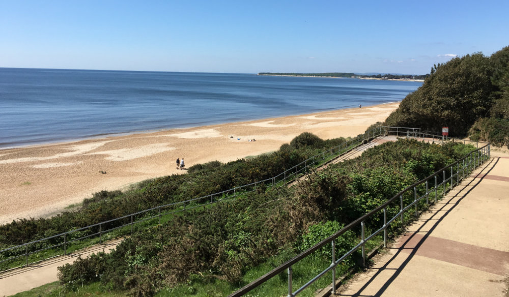 The Zig-Zag path, Highcliffe (photo: Andy Clayton)